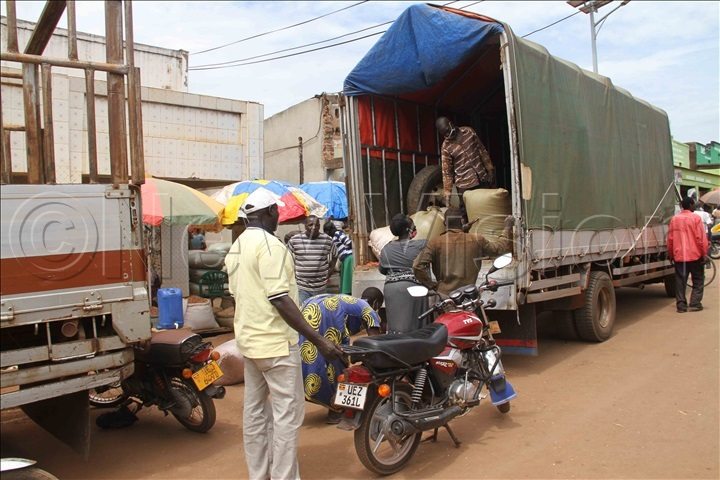 Some of the traders at work in Lira town. Photo by Hudson Apunyo