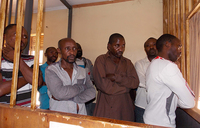 Army court remands nine Kasese notorious robbers