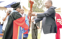 Muteesa University offers education with a touch of culture, ethics