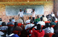 Soroti farmers trained to control army worm