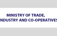 Notice from Ministry of Trade