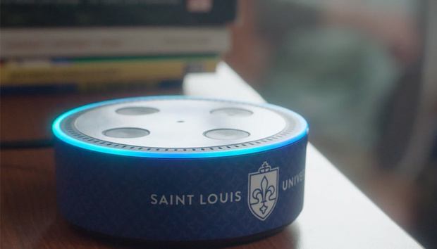 University-customized Alexa devices will answer students' questions
