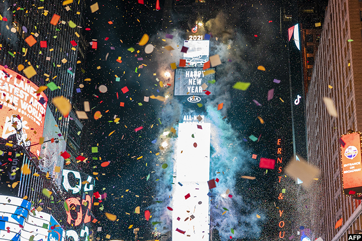 The World Welcomes New Year Resisting A Pandemic
