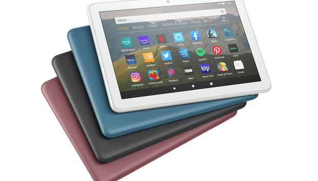 Amazon's Fire HD 8 tablet refresh brings faster speeds and slimmer bezels for slightly more