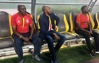 King Oyo drops in on Cranes training session
