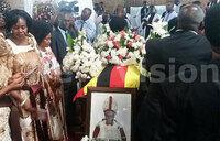 Glowing tributes paid to Nkoyoyo in Mukono funeral