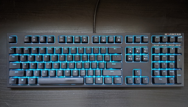 Realforce RGB gaming keyboard review: Even for Topre fans this is a tough call
