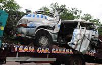 One dead,13 survive Mabra accident