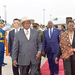 President Museveni returns from China