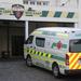 Under police escort, S.African ambulances brave attacks