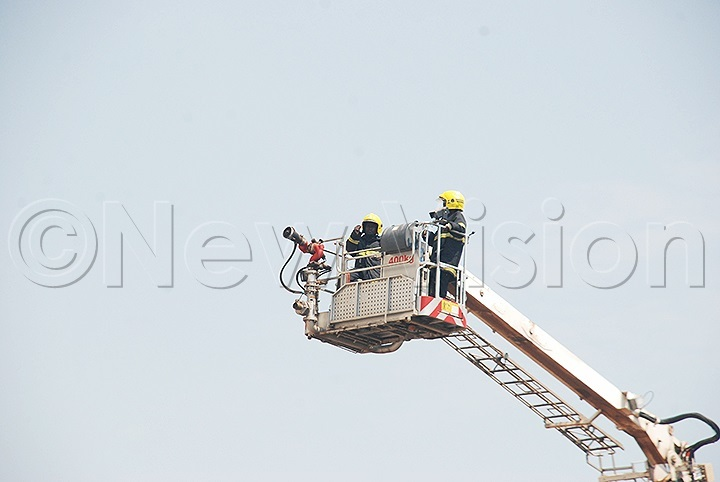 Uganda has the best Fire Department - Police
