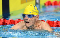 Australian 99-year-old smashes age world record in pool