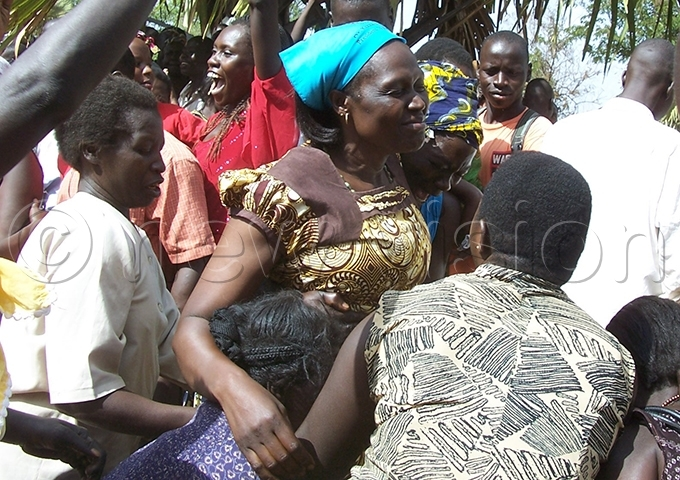 nywar celebrates with her supporters after her win in the ebruary 2011 elections ile hoto
