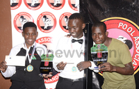 Youngsters dominate Kampala Pool Open