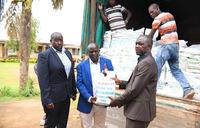 COVID-19: Ugandans in the Diaspora donate food to Luweero