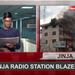 Around Uganda; Fire guts Jinja radio station