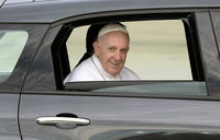 Pope freed after getting stuck in Vatican lift