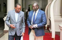 Machar in Nairobi on peace implementation consultations