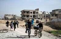 Syrian assault has retaken half of Ghouta enclave: Monitor