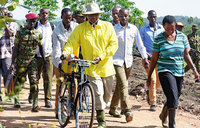 The story of our President, the bicycle and wealth creation
