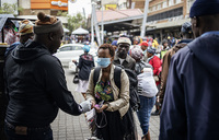 South Africa virus cases fast rising, jump to 116