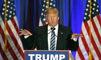 Donald trump 350x210