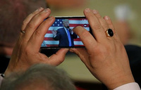 With new iPhone, Trump still a target for hackers