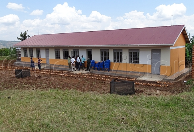 ne of two new classroom blocks at uma emorial rimary chool hoto by addeo wambale