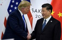 Trump threatens China ties, says in no mood for Xi talks