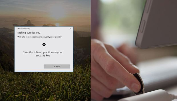 Now you can sign into your Microsoft Account with your face or a security key—no password needed