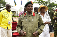 Museveni receives petition to remove presidential age limit
