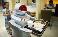 Robo-cook:robot restaurant boots up in China