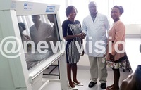 UVRI boosts veterinary college with lab equipment