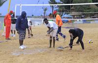 Rains disrupt Continental Cup Women Beach Volleyball