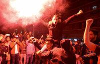 Celebrations as Barcelona seal 25th La Liga title