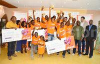 Valentine's Day winners receive cash prizes