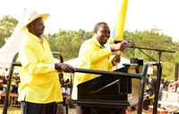 Museveni campaigns for Elioda in Sheema
