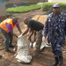 Kisoro Police clean Bunagana border