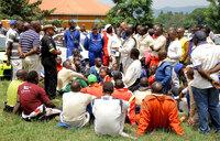 Chaos in Kabalega rally