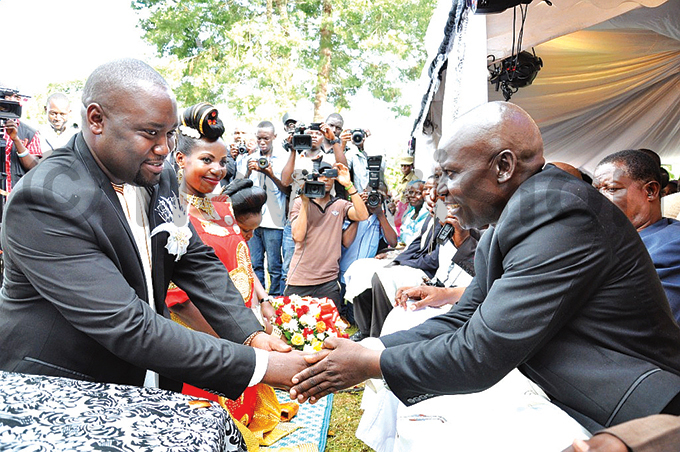 uganza greets antumes parents and family