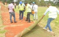 UCA starts upgrade of Jinja SSS cricket pitch