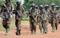 US marines train Ugandan soldiers