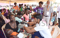 Thousands receive treatment at Pece Health Camp