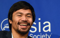 Pacquiao would love to fight for Philippines at Rio Olympics