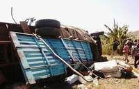 At least 14 perish in Pakwach road accident