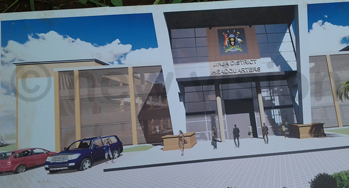 n artistic impression of the proposed headquarters hoto by ackie ambogga