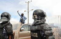 'Besigye will be free if he desists from defiance'