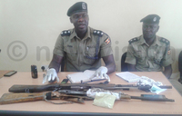 Police recovers guns, ammunition from suspected robbers