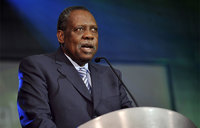 African football chief Hayatou in fight for 8th term