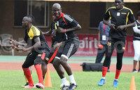 Ex-skipper Sekagya takes Cranes through training
